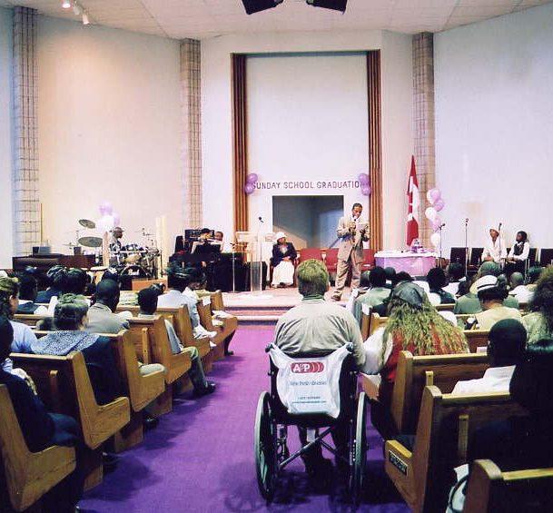 APC Sunday School Graduation In 2001 at 755 Oklahoma Drive Pickering ON
