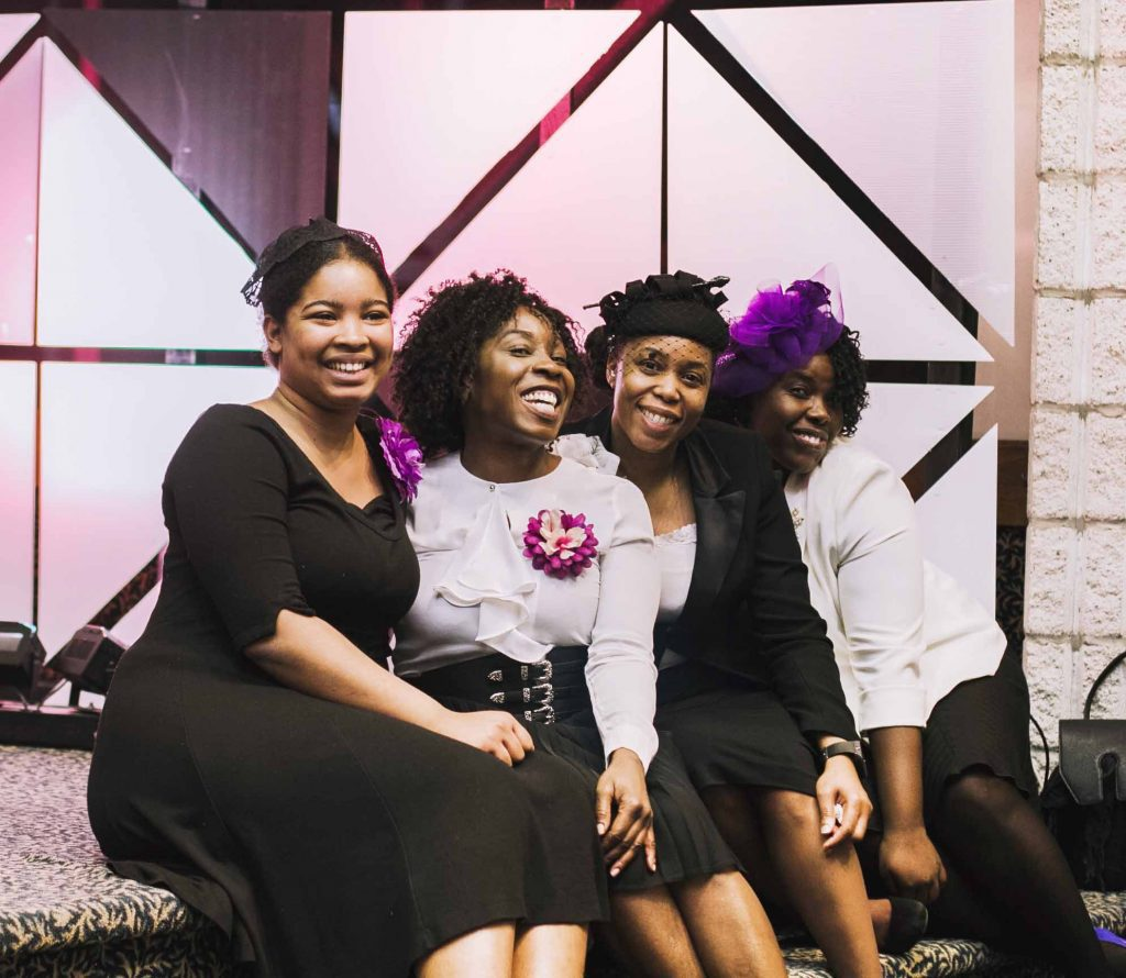 APC Praise Team Women Smiling