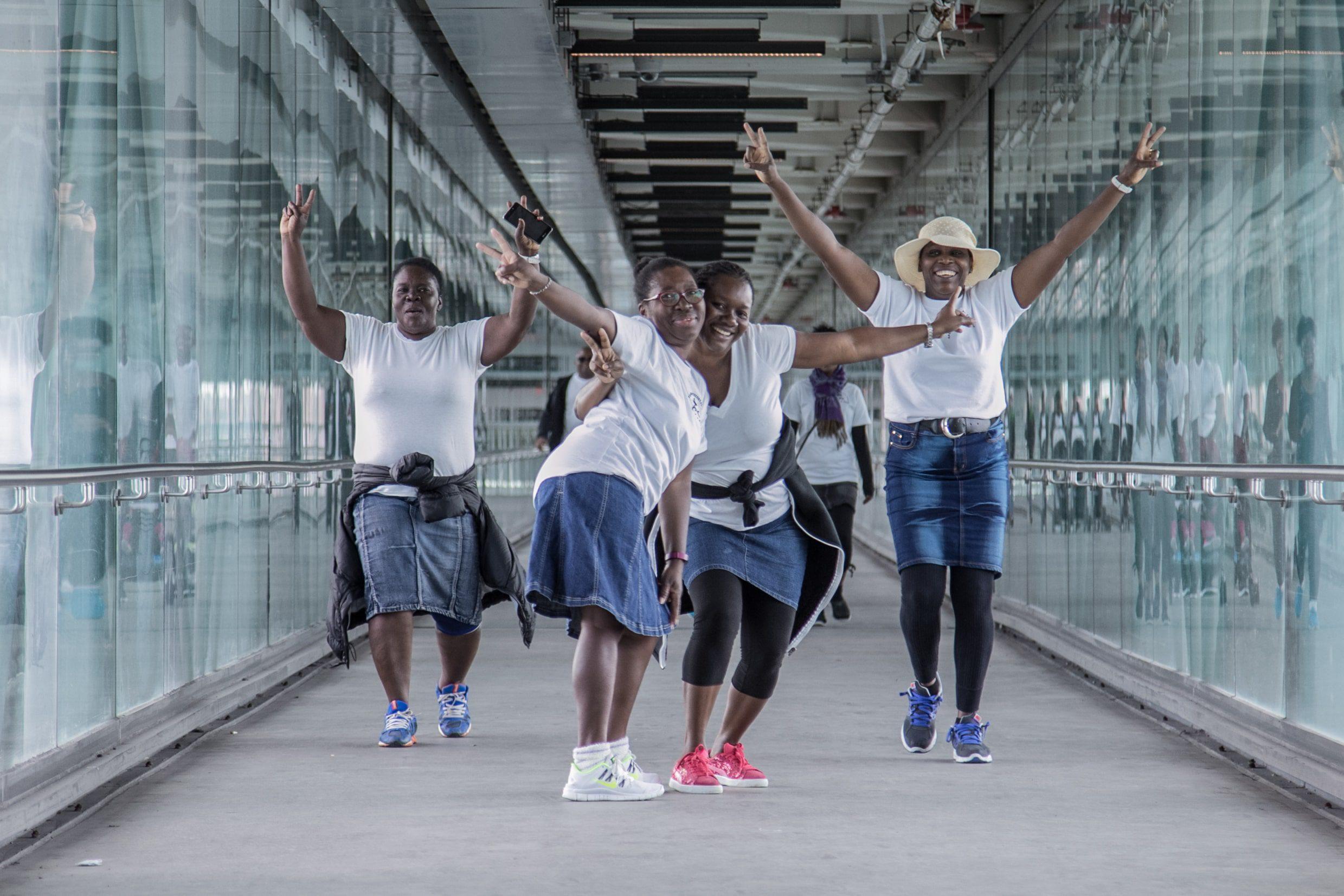 APC Walk-A-Thon: Ladies Having Fun